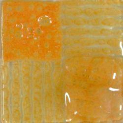 Artisan Melon, färg som ger bubblor mellan glas