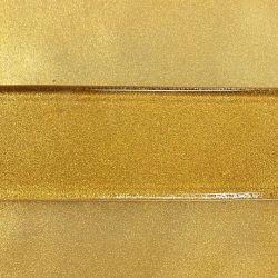 Metallisk glasfärg mässing