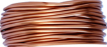 Emaljerad tråd ,kopparfärg, 1 mm, ca 4 meter, oxiderar inte, behåller färgen.