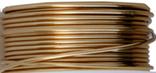 Emaljerad tråd ,Guldfärgad, 1 mm, ca 4 meter, oxiderar inte, behåller färgen.
