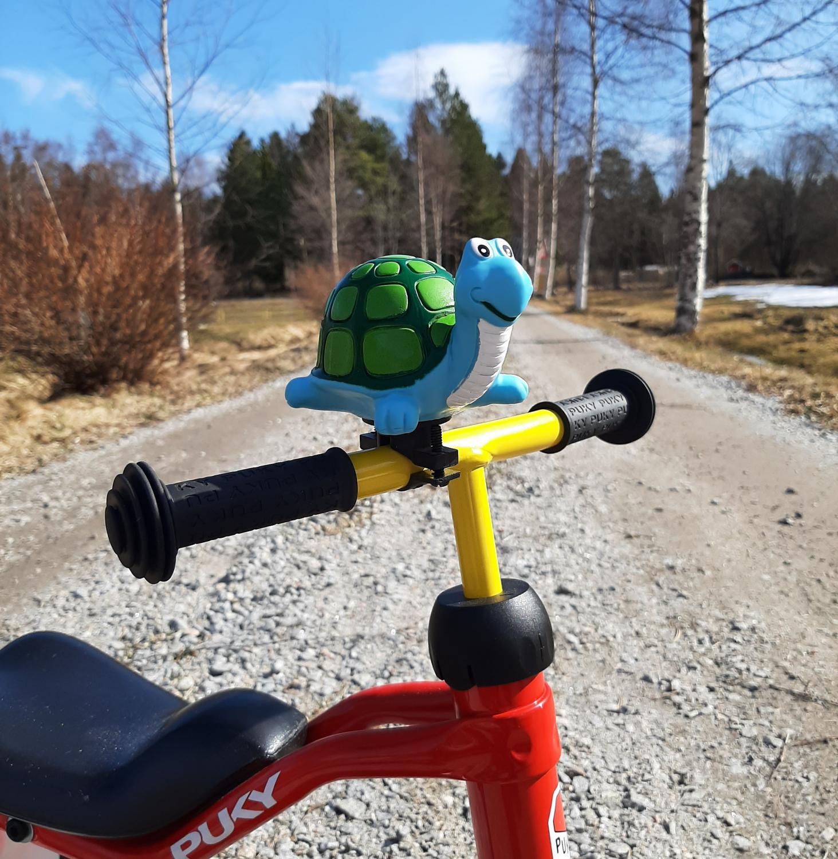 Cykeltuta sköldpadda