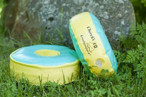 Cherek uimakellukkeet vihreä/keltainen