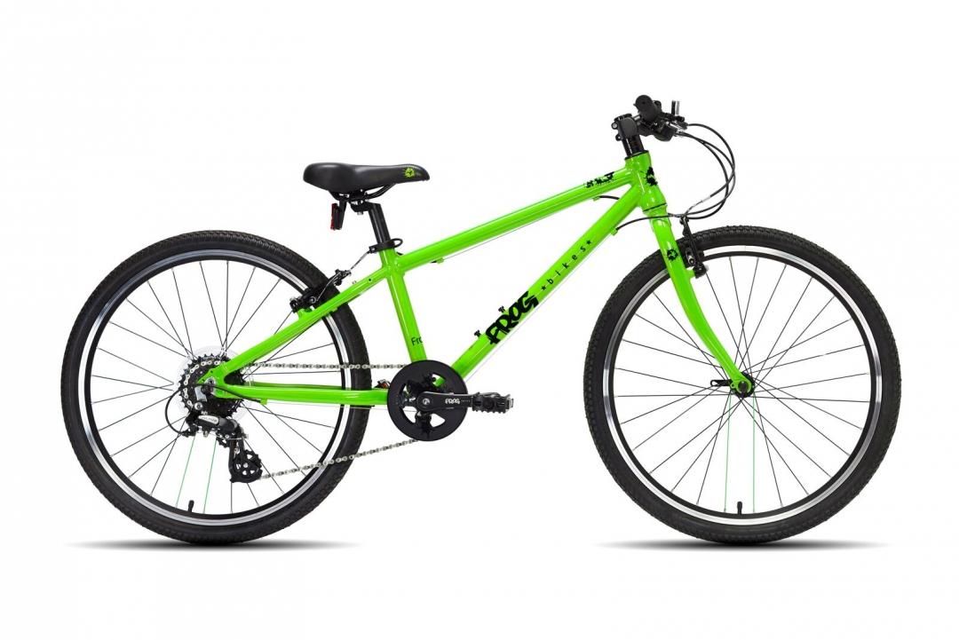 Toppen Frogs cyklar är extremt lättrampade och anpassade enligt barns behov. SR-78