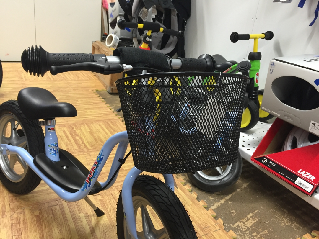 Cykelkorg till barncykel eller balanscykel