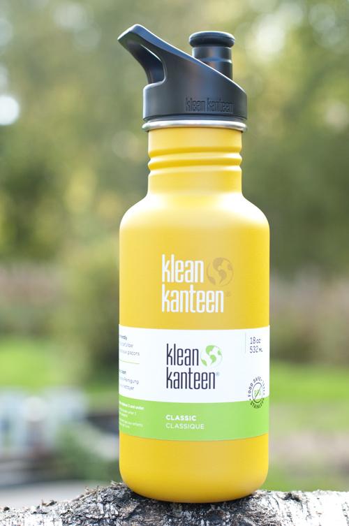 Klean Kanteen Classic 532 ml (gul)