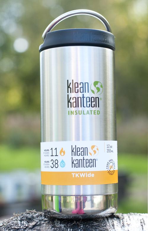 Klean Kanteen TKWide 355 ml (teräs)