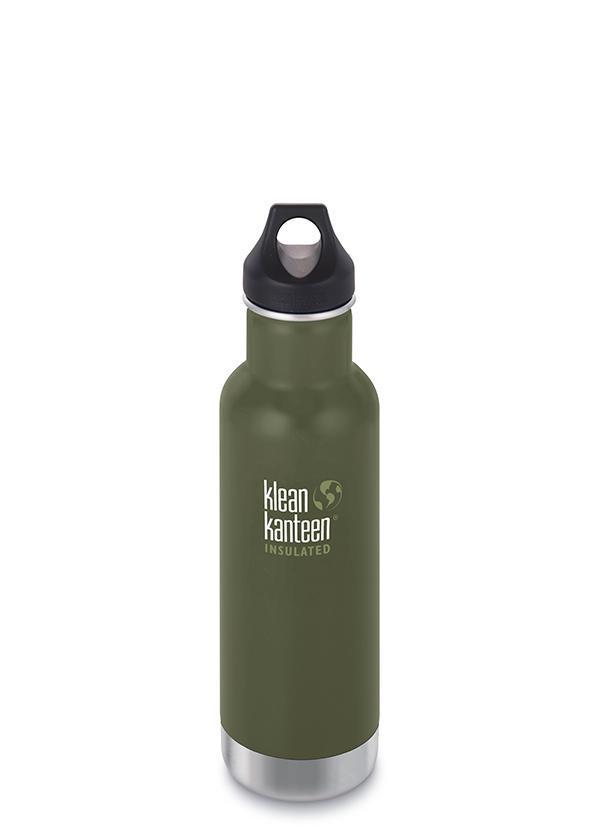 Klean Kanteen Classic (Insulated) 592 ml (oliivinvihreä)