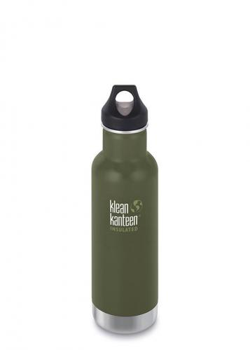 Klean Kanteen Classic (Insulated) 592 ml (olivgrön)