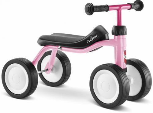 Balanscykel med fyra hjul för de allra minsta