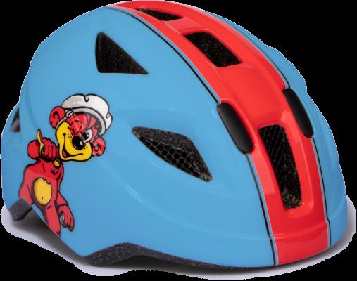 Puky pyöräilykypärä 45-51 cm (puna/sininen)