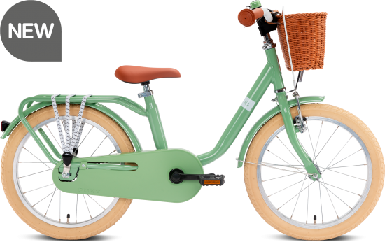 Puky Steel Classic 18 retro-green