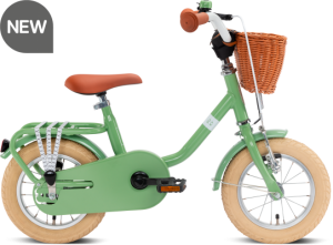 Puky Steel Classic 12 retro-green