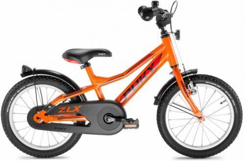 """Puky ZLX Alu 16"""" oranssi"""