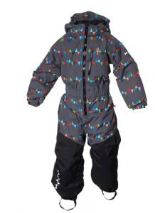 PENGUIN Winter Jumpsuit ss17-18 Grey peaks koko 86