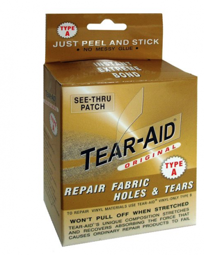 Tear-aid repair type A