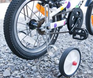 Stödhjul för Frogs 14- och 16-tums cyklar