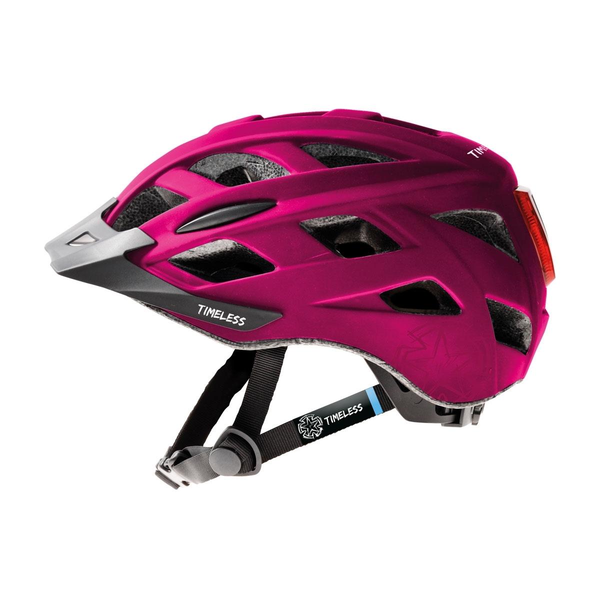 Timeless Fox cykelhjälm för vuxna/juniorer (rosa)