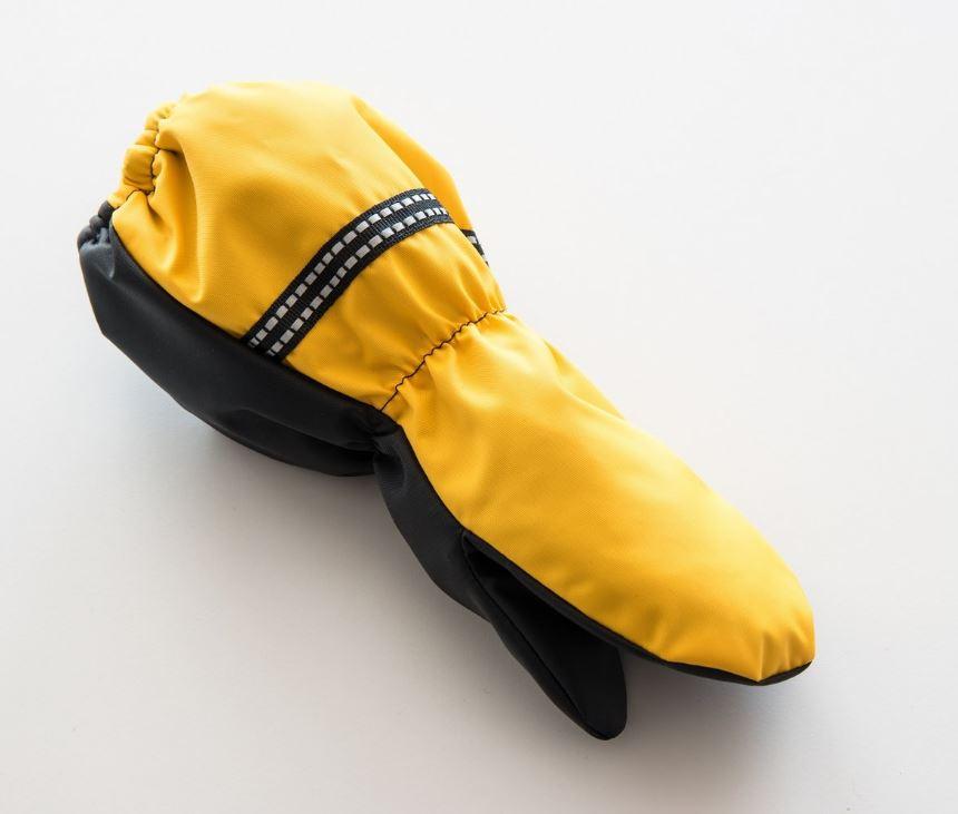 Lasten talvirukkaset keltainen