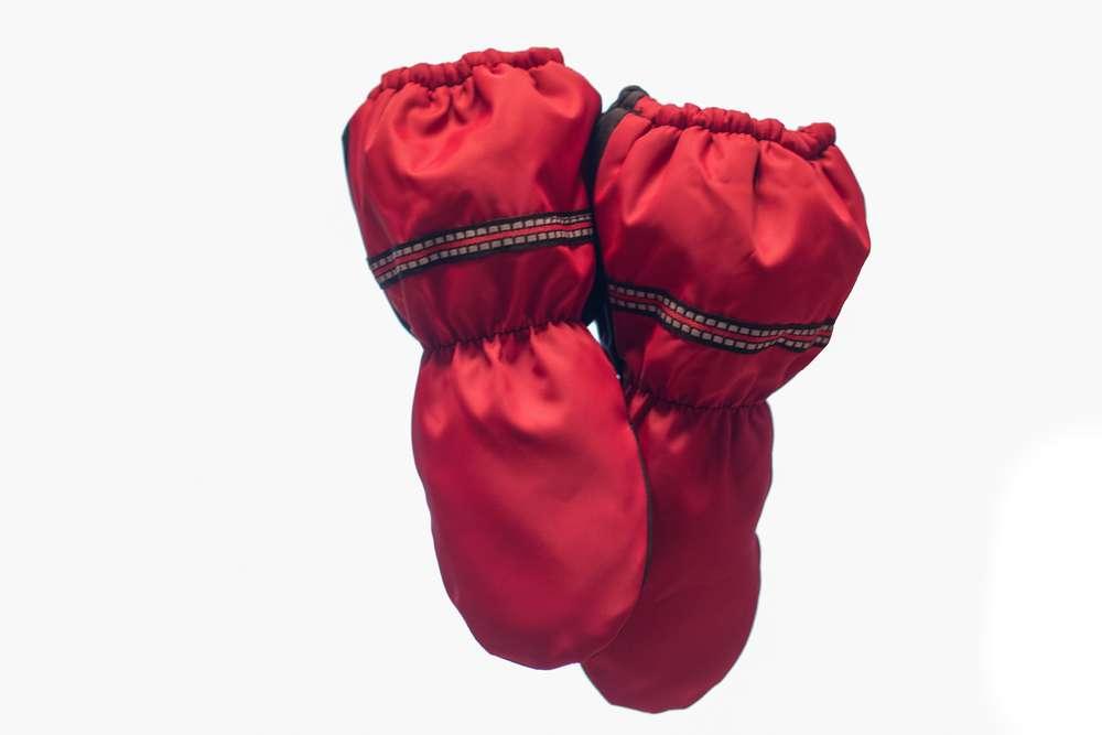 Vinterhandskar för barn röda