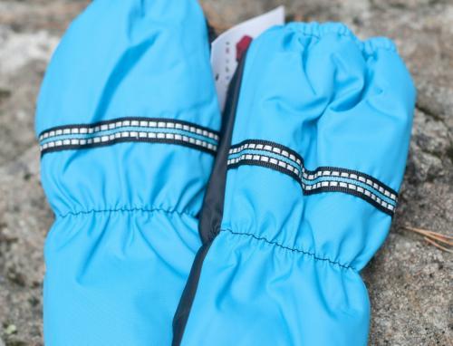 Vinterhandskar för barn turkos