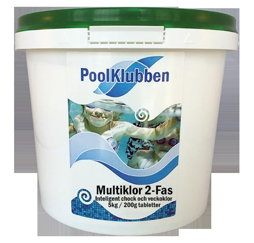 Multiklor 2-Fas 5 kg / 200g