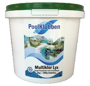 Multiklor Lyx 5 kg / 200g