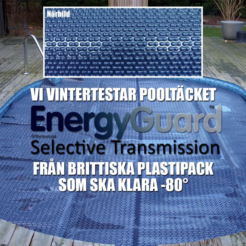 Poolklubben Testar - EnergyGuard™