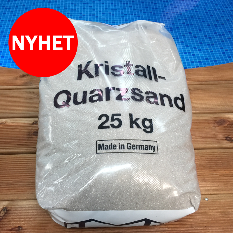 Filtersand 100 kg Kristallkvarts 0.4 - 0.8 mm