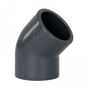 PVC Vinkel 45° 50mm