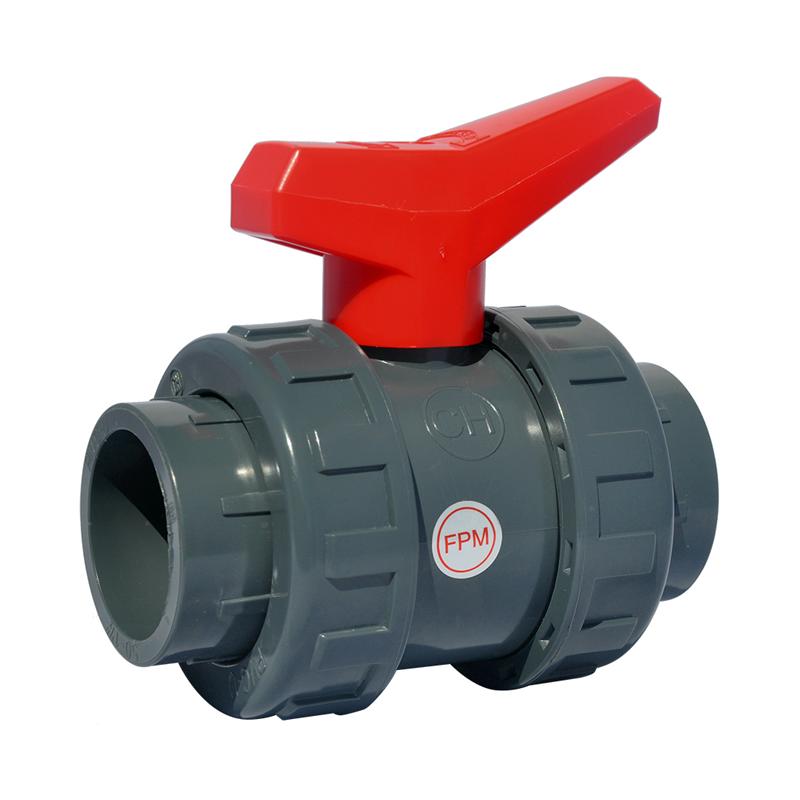 PVC Kulventil 50mm PN16