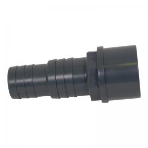 PVC reducerings nippel 50mm lim till 38 - 32mm slang