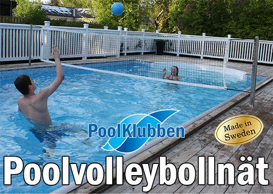volleybollnät för pool