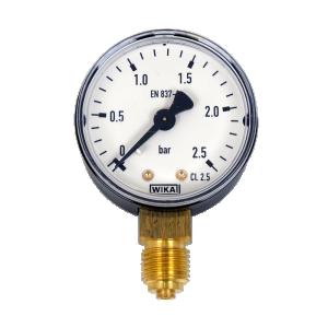 "WIKA manometer 0-2.5 bar 1/4"""