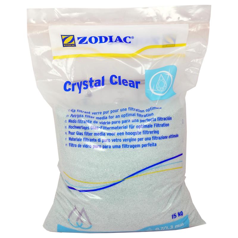 Zodiac Crystal Clear Glas fin 15 kg 0.7 - 1.3