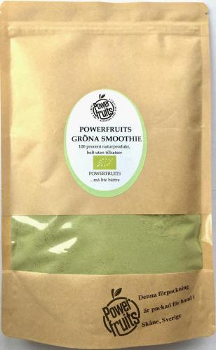 POWERFRUITS GRÖNA SMOOTHIE, 250gr (EKO)
