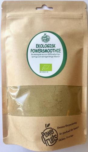 POWERFRUITS POWERSMOOTHIE, 75gr (EKO)