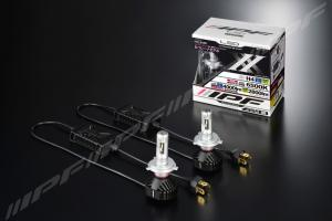IPF H4 LED 6500K 25/21W LED konverteringskit fläktlös 12/24V