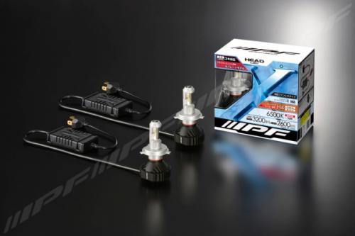IPF H4 LED 6500K 20W LED konverteringskit fläktlös 12V