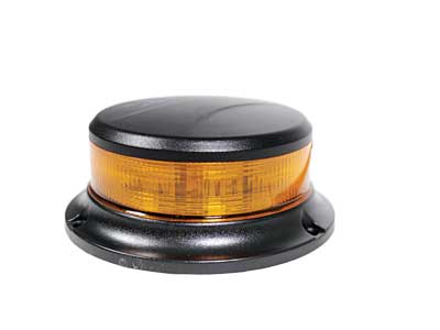 Blixtljus Roterande - LED - ø112x48mm - ECE R65/R10, IP67 - 12/24V