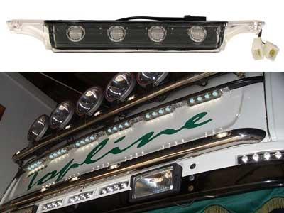 Scania HE Blå Topline LED Takljus 225x38x37mm