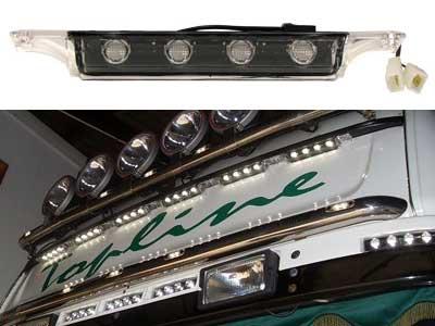 Scania HE Klar Topline LED Takljus 225x38x37mm