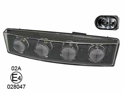 Scania HE 4- R- E-Godkänd LED Markeringsljus