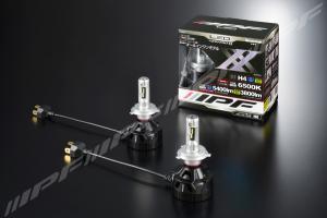 IPF H4 LED 6500K 36W LED konverteringskit 12V & 24V