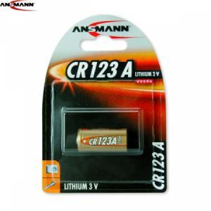 ANSMANN LITHIUM CR123A BATTERI