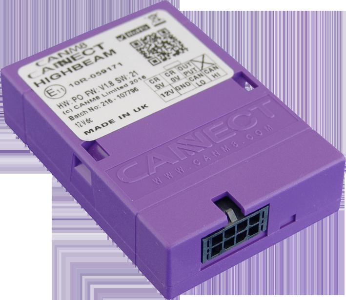 CANBUS INTERFACE BOX - För inkoppling av extraljus med CANBUS-styrt helljus