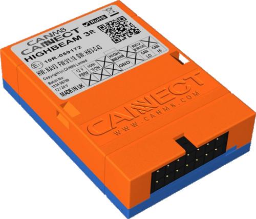 CANBUS INTERFACE BOX - För inkoppling på Canbus-system med utgång för helljus, Parkeringsljus och 12V (+15 tändning)