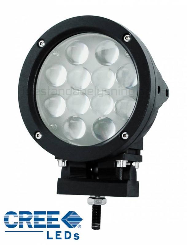 PBE180 Black - 60w Cree LED extraljus