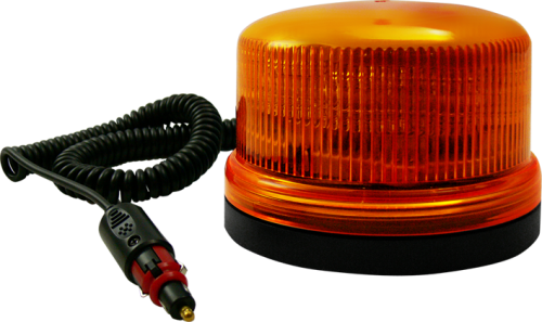 B16 LED Orange Blixtljus med Magnet