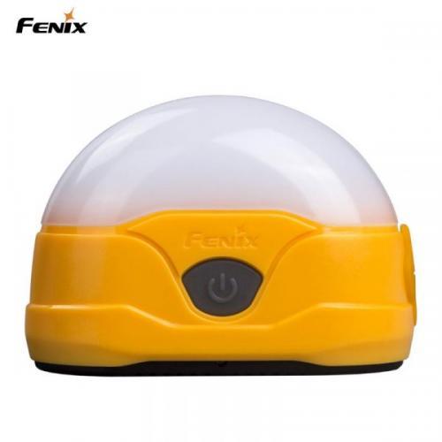 FENIX CL20R 300 LUMEN LED CAMPINGLYKTA GUL
