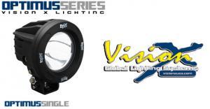 Vision X Optimus Round 10w LED extraljus